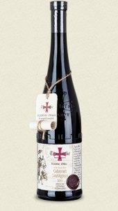 Víno Cabernet Sauvignon Templářské sklepy Čejkovice - pozdní sběr
