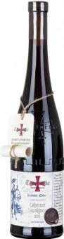 Víno Cabernet Silver Templářské sklepy Čejkovice