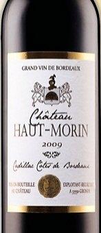 Víno Cadallac Cotes de Bordeaux Chateau Haut Morin