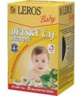 Čaj bylinný Baby Leros
