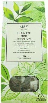 Čaj bylinný Marks & Spencer - pyramidový