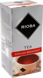 Čaj English Breakfast Tea Rioba