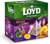 Čaj ovocný Loyd - pyramidový