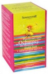 Čaj poznávací sada Ochutnej bio Sonnentor