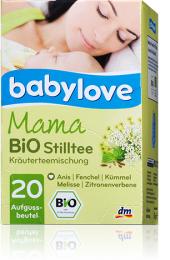 Čaj pro kojící matky bio Babylove