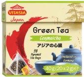 Čaj zelený Vitasia - pyramidový