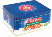 Čaje ovocné Teekanne - plechová dóza