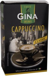 Cappuccino porcované Gina