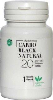 Tobolky aktivní uhlí Carbo black natural