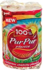 Celozrnné pšeničné chlebíčky PurPur Druid