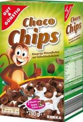 Cereálie Choco Chips Gut&Günstig Edeka