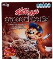 Cereálie Choco krispies Kellogg's