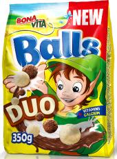 Cereálie Čokoládové kuličky Duo Bonavita