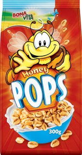Cereálie Honey Pops Bonavita