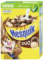 Cereálie Duo Nesquik