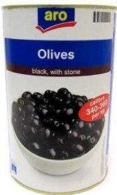 Černé olivy Aro