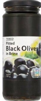 Olivy černé Tesco