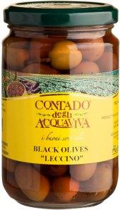 Černé olivy Contado degli Acquaviva
