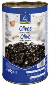 Černé olivy Metro Chef