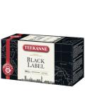 Černý čaj Black label Teekanne