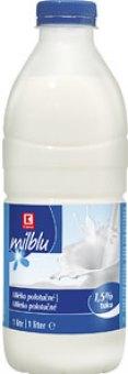 Mléko čerstvé K-Classic - 1,5% polotučné