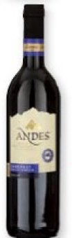 Víno červené Andes