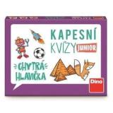 Cestovní hra Kapesní kvízy Junior - chytrá hlavička Dino