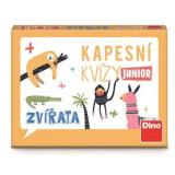 Cestovní hra Kapesní kvízy Junior - zvířata Dino