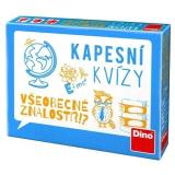 Cestovní hra Kapesní kvízy - všeobecné znalosti Dino