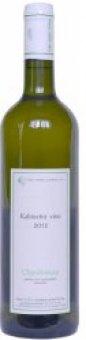 Víno Chardonnay České vinařství Chrámce - kabinetní