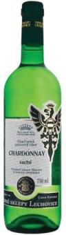Víno Chardonnay Vinné sklepy Lechovice