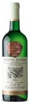 Víno Chardonnay Znovín Znojmo - pozdní sběr