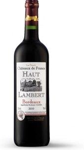Víno červené Boudeaux Haut Lambert Chateau de France