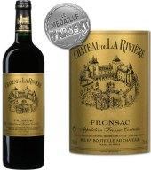 Víno Fronsac Chateau de La Riviére