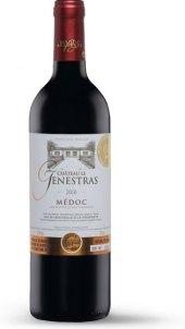 Víno Médoc Chateau Le Genestras