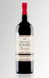 Víno červené Bordeaux Chateau Les Agates