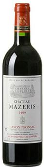 Víno Canon Fronsac Chateau Mazeris