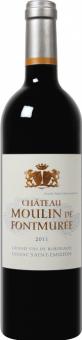 Víno červené Lussac Saint - Emilion Chateau Moulin de Fontmurée