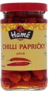 Chilli papričky Hamé