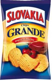 Chipsy vroubkované Slovakia
