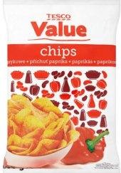 Chipsy Tesco Value