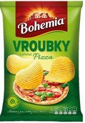 Chipsy vroubky Bohemia Chips