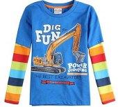 Chlapecké tričko s dlouhým rukávem F&F
