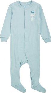 Chlapecký kojenecký overal na spaní s dlouhým rukávem Pure Collection Lupilu