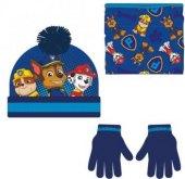 Chlapecký set čepice a rukavice