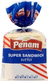 Toustový chléb supersendvič Penam