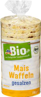 Kukuřičné chlebíčky dm Bio
