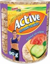 Chlebíčky rýžové Active Bonavita