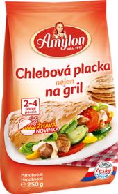 Chlebová placka nejen na gril Amylon