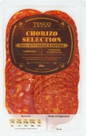 Salám Chorizo selection Tesco